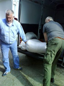 ORK Schnee donacija kukuruza za divljač